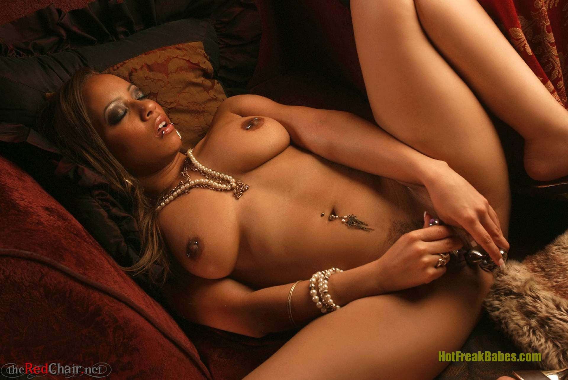 Victoria Taylor, Vickie6, African American, glam model, ebony, ebony model, solo, butt, heels, Red Chair, theredchair, glam, dark erotica, fetish, toys, female masturbation